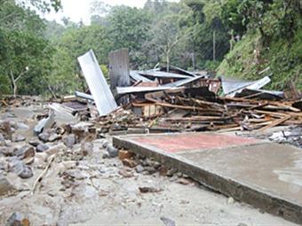 Sigue emergencia por avalancha en Ortega, Tolima