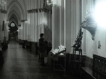 ¿Fantasmas en la Iglesia de Lourdes en Bogotá?