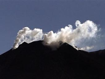 A naranja nivel de alerta del volcán Galeras