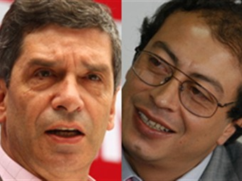 Rafael Pardo es el candidato del Partido Liberal. Gustavo Petro, el del Polo Democrático