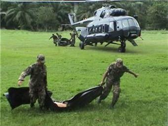 Seis soldados muertos y nueve heridos dejan combates en Guaviare