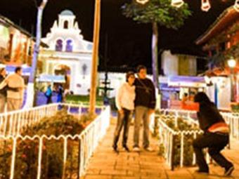 Se enciende el alumbrado navideño de Medellín