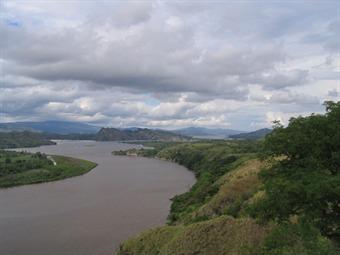 Dramática caída en niveles de ríos Magdalena y Putumayo