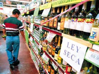 Ley seca por elecciones, regirá desde el viernes en Bogotá