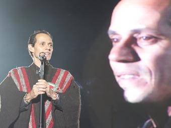 Marc Anthony se puso la ruana en el FIC de Boyacá