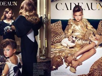 Escándalo por  niñas modelos  en revista Vogue   Actualidad ... 535f320aca