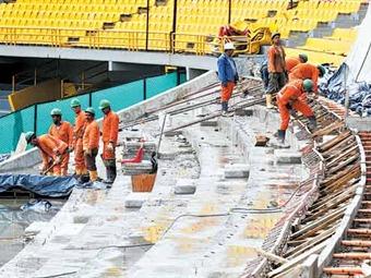 Las obras de remodelación del Estadio El Campín cumplen con plazos establecidos