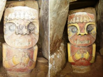 Daños irreparables a estatuas arqueológicas de San Agustin