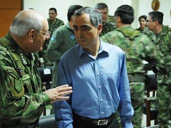Mayor pie de fuerza promete el ministro de defensa para Norte de Santander y Cesar
