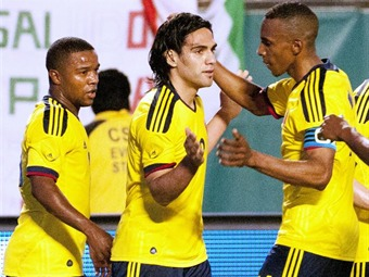 Colombia venció 2-0 a México en el debut de José Pekerman en la dirección técnica