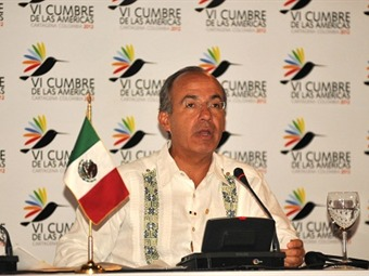 Calderón considera que la Cumbre fue un éxito incluso sin declaración