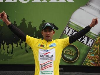 Alejandro Ramírez se coronó campeón de la Vuelta a Cundinamarca