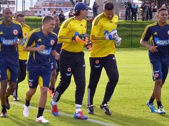 Con 20 jugadores trabaja Selección Colombiana de fútbol de mayores