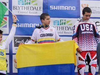 El colombiano Carlos Ramírez se coronó campeón mundial de Bicicross