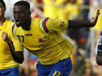 Selección Colombia venció 7-1 a Guyana en partido amistoso