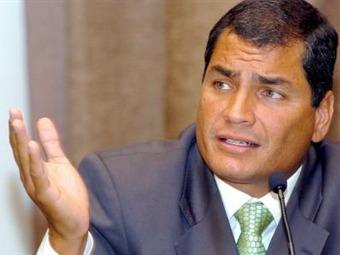 Correa pide a colombianos rechazar ser vinculados con delincuencia en Ecuador
