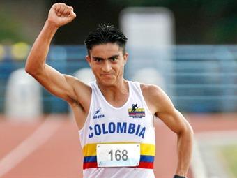 James Rendon conquista oro en Iberoamericano de Atletismo y estará en Londres 2012