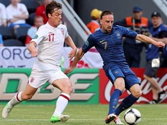 Francia e Inglaterra empataron 1-1 en la apertura del Grupo D