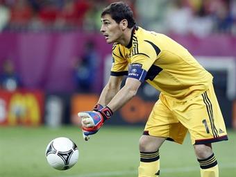 Casillas e Iniesta, los dos líderes de la 'Roja'