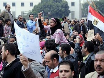 Masivas protestas en Egipto contra Junta Militar y disolución del Parlamento
