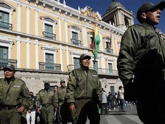 El Gobierno boliviano y los policías amotinados firmaron un acuerdo