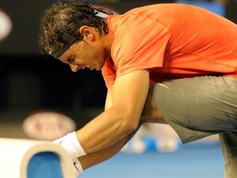 Rafael Nadal se lesiona y suspende compromisos