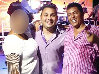 Cantantes de vallenato y reggaetón amenizaron la fiesta de matrimonio de alias 'Fritanga'