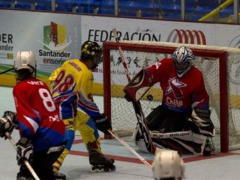 Colombia golea a Chile en Mundial de Hockey en Bucaramanga