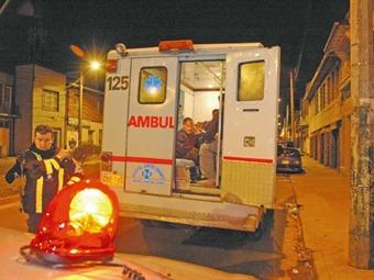 Cinco heridos en dos accidentes de tránsito en Bogotá