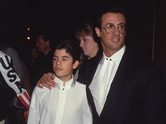 Murió Sage, el hijo del actor Sylvester Stallone