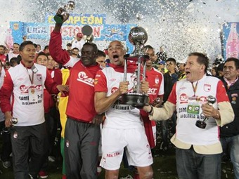 ¡Santa Fe es campeón del fútbol colombiano!