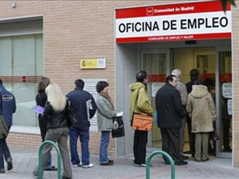 El 25 por ciento de las personas en edad laboral están si empleo en España