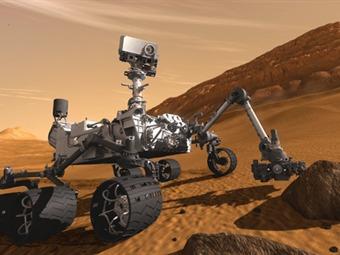 La sonda Mars Express presta ayuda durante arribo de Curiosity a Marte