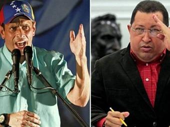 A dos meses de las elecciones, Chávez y Capriles tienen el poder sobre el 90% de los venezolanos