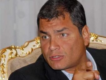 Rafael Correa se refiere al escándalo por falsedad de firmas de la oposición