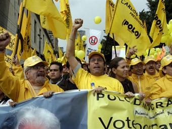 Expulsión del partido comunista desata crisis en el Polo Democrático