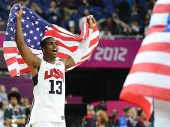 Estados Unidos es nuevamente campeón olímpico en baloncesto masculino