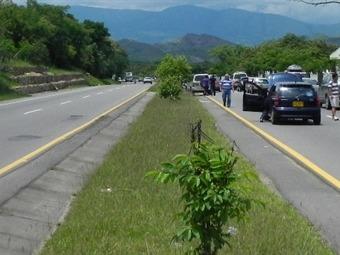 Cerrada la vía Melgar – Girardot por accidente de tránsito