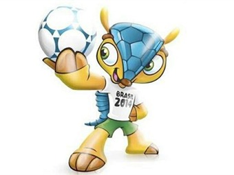 La mascota del Mundial 2014 será un armadillo