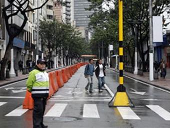 Desde este sábado la Séptima será peatonal desde la calle 24 hasta la Plaza de Bolívar
