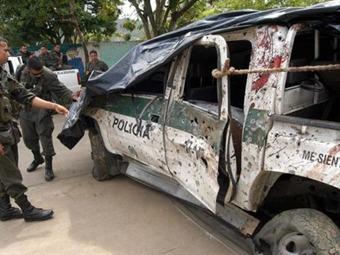 Farc ataca patrulla de la Policía con granadas en el Putumayo