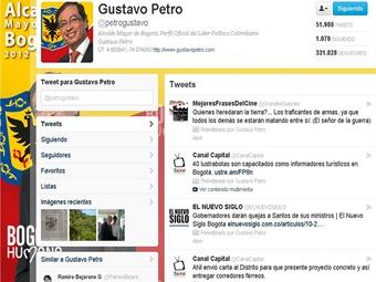 Los trinos de Petro y su incomodidad con funcionarios del Gobierno Santos