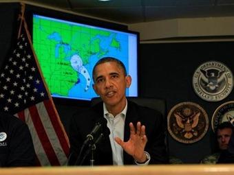 """Por llegada de """"Sandy"""", pausa en campaña electoral de EEUU a una semana de las elecciones"""
