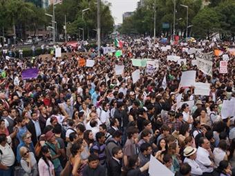 #YoSoy132 anuncia marchas contra la toma de posesión de Peña Nieto