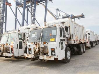 Camiones compactadores serían decomisados si Distrito no presenta documentación: DIAN