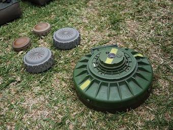 Ejército neutraliza tres minas antipersona en el norte de Antioquia