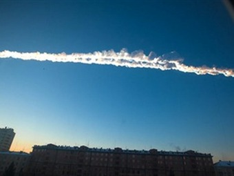 Meteorito que cayó en Rusia dejó casi 1.000 heridos, según Gobierno