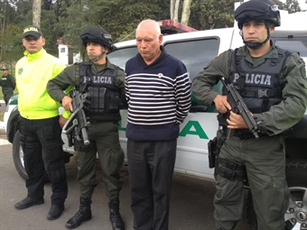 Capturado reconocido empresario de Bogotá por vinculos con el narcotráfico