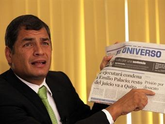 Rafael Correa y su pelea con los medios en Ecuador