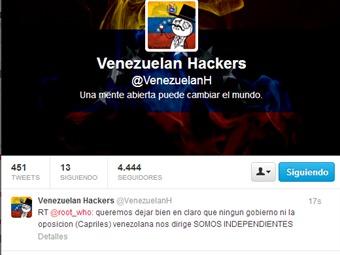 Tras tomarse la cuenta de Nicolás Maduro en Twitter, hackers amenazan al CNE de Venezuela